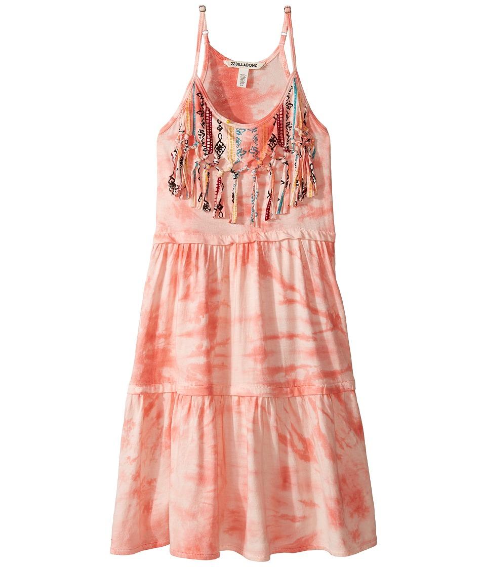 Billabong Kids Heart Roads Dress (Little Kids/Big Kids) (Pink Crush) Girl