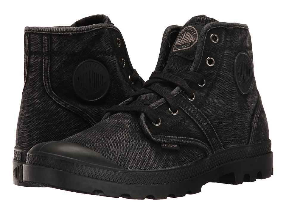 Palladium Pallabrouse (Black/Metal) Men