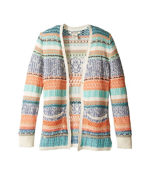 Billabong Kids Stitches Over You Cardigan (Little Kids/Bigs)