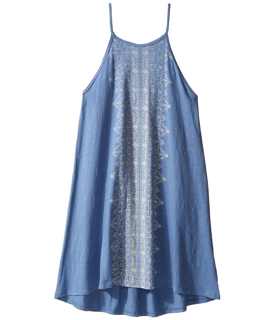 Billabong Kids Funky Finds Dress (Little Kids/Big Kids) (Blue Jay) Girl