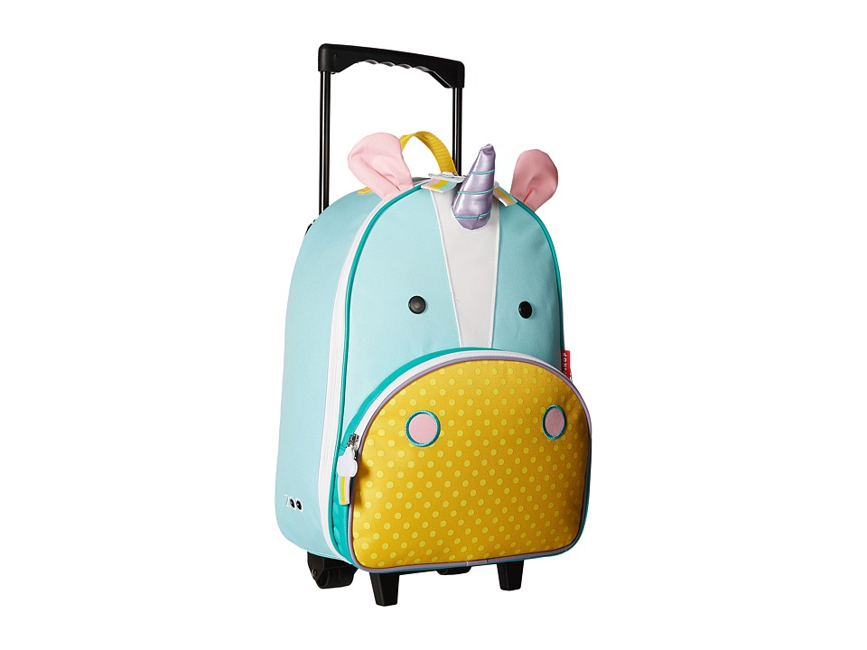 Skip Hop Zoo Kids Rolling Luggage Eureka Unicorn Carry on Luggage