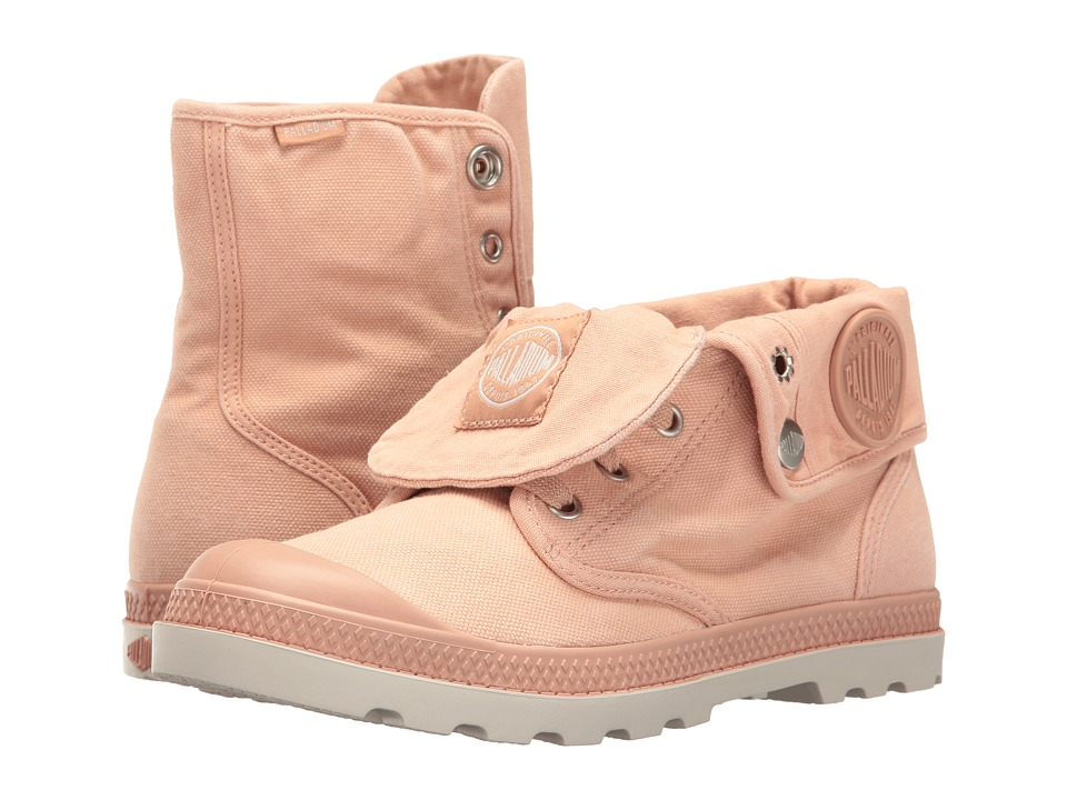 Palladium Baggy Low LP (Salmon Pink/Silver Birch) Women