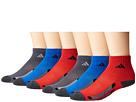 adidas Kids adidas Kids Vertical Stripe Quarter Socks 6-Pack (Toddler/Little Kid/Big Kid/Adult)