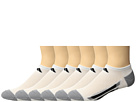 adidas Kids - Vertical Stripe No Show 6-Pack (Toddler/Little Kid/Big Kid/Adult)