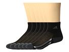 adidas Kids Vertical Stripe Quarter Socks 6-Pack (Toddler/Little Kid/Big Kid/Adult)