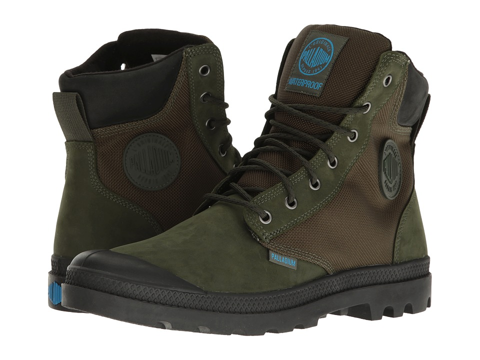 Palladium Pampa Sport Cuff WPN (Army Green/Black) Boots
