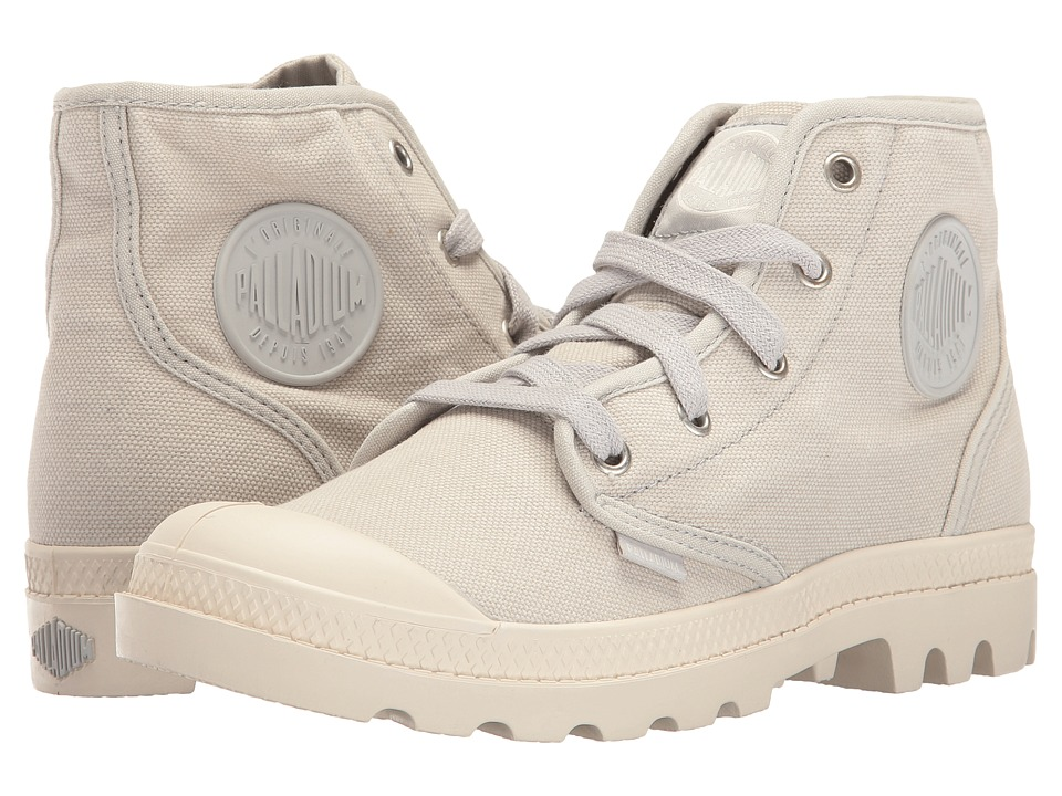 Palladium Pampa Hi (Lunar Rock/Marshmallow) Women