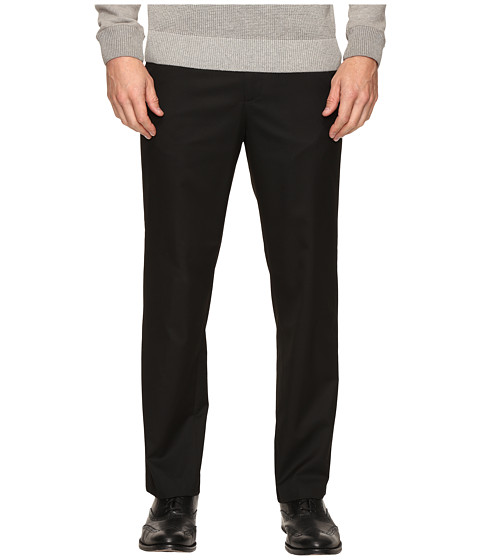 Calvin Klein Poly Viscose Twill Pants - Black