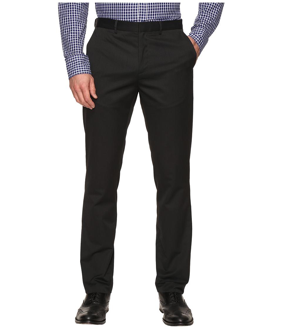 Calvin Klein - Slim Fit Ticking Stripe Pant (Granite) Mens Casual Pants