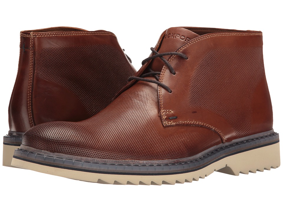 Rockport Jaxson Chukka (Tobacco Leather) Men
