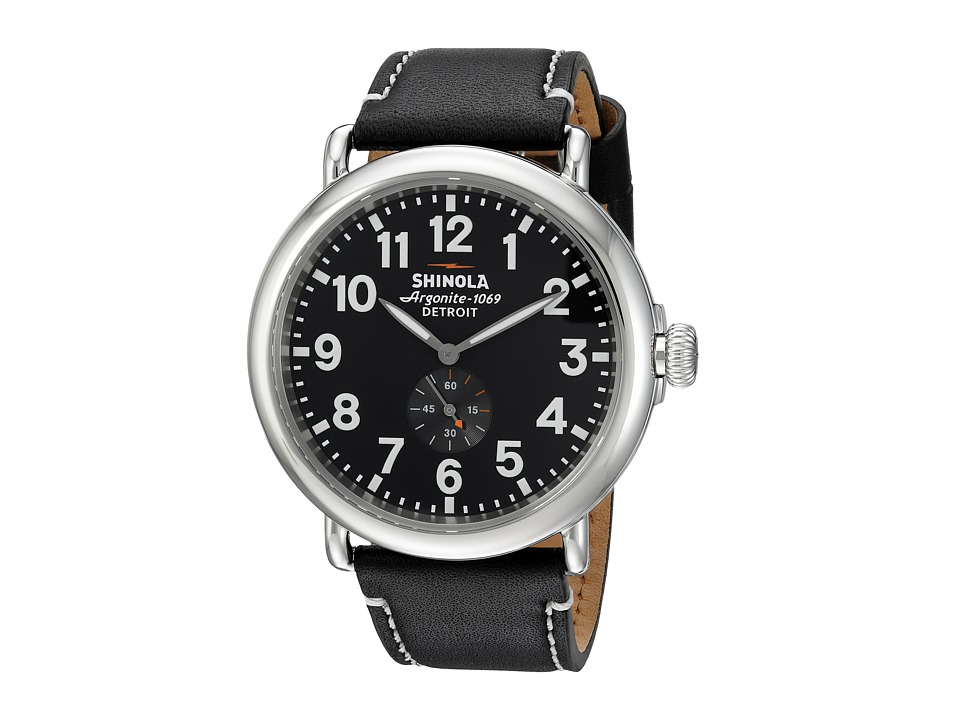Shinola Detroit - The Runwell 47mm - 10000012 (Black/Black) Watches