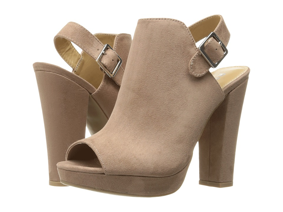 Report Libbie (Taupe) High Heels