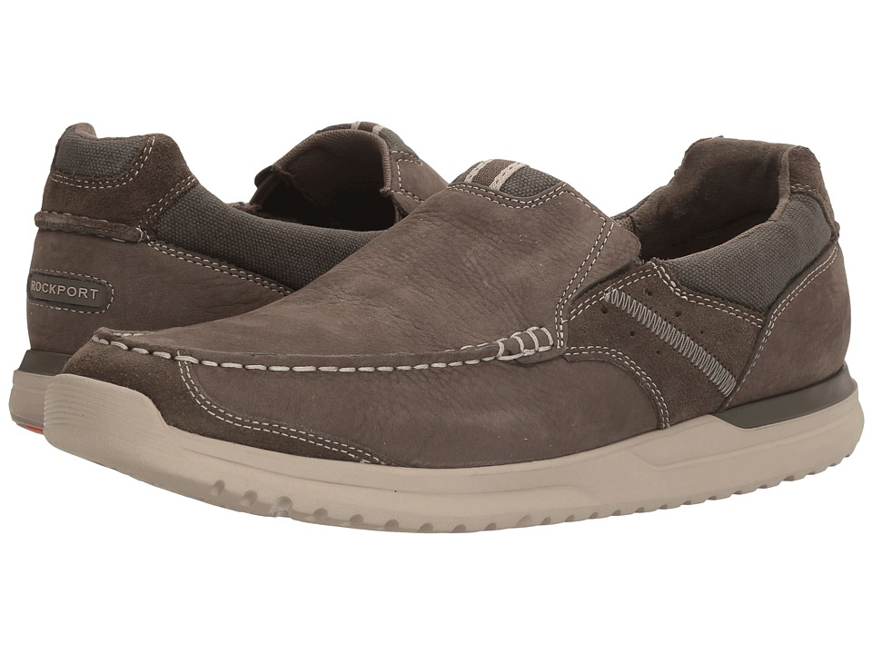 Rockport Langdon Slip-On (Breen Leather) Men
