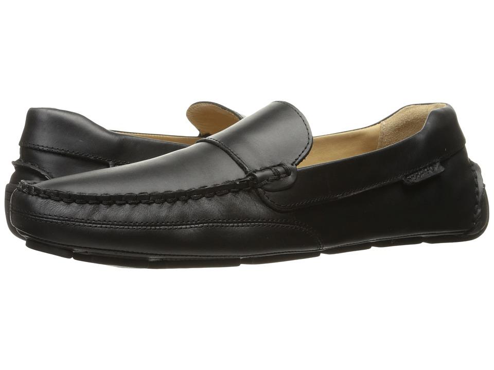 Sebago Kedge Venetian (Black Leather) Men