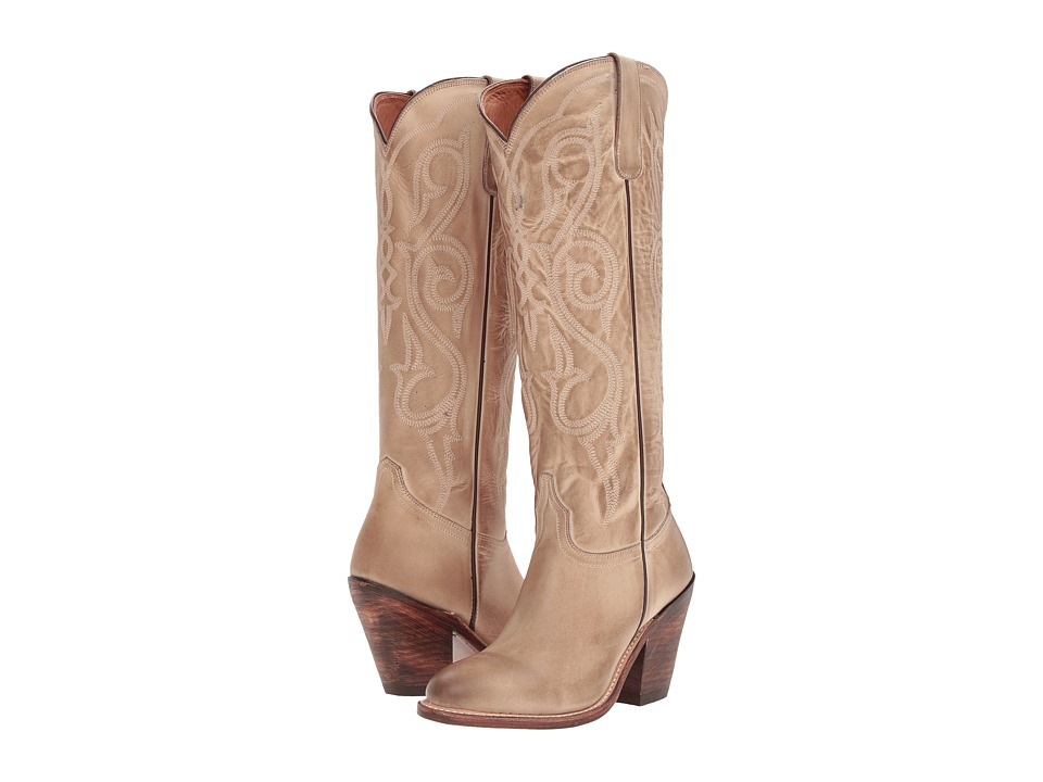 Lucchese Vanessa (Eggshell) Women's Shoes