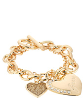 GUESS - Logo Heart Multi Chain Toggle Bracelet