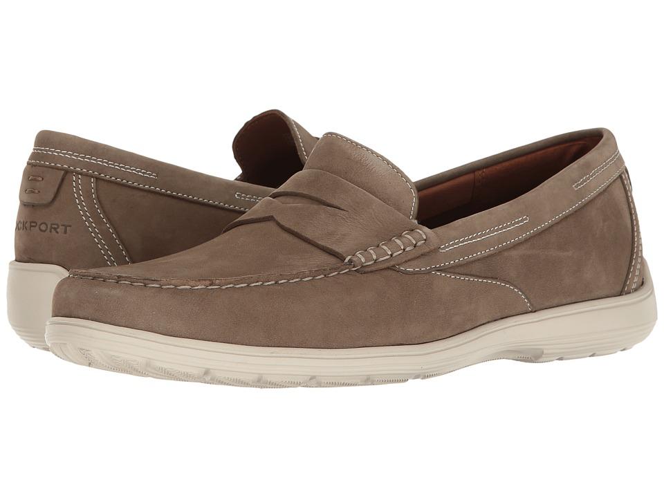 Rockport Total Motion Loafer Penny (New Vicuna Nubuck) Men