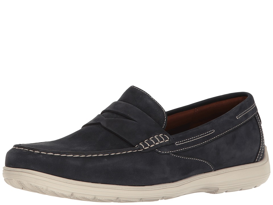 Rockport Total Motion Loafer Penny (New Dress Blues) Men