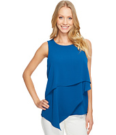 Vince Camuto - Sleeveless Asymmetrical Layered Blouse