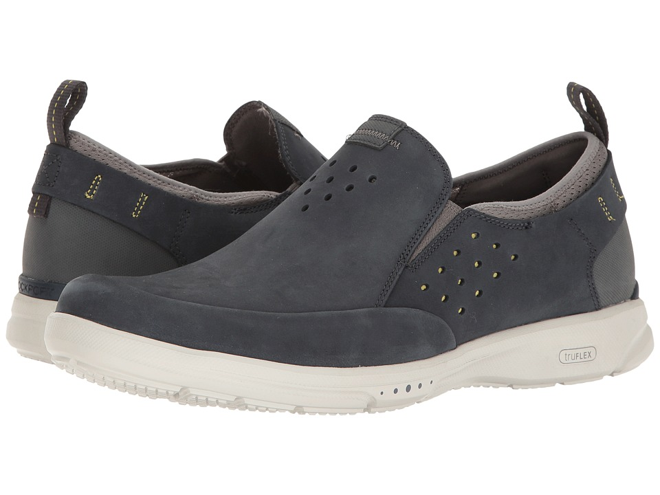 Rockport - TruFlex Slip-On (New Dress Blues) Mens Slip on  Shoes