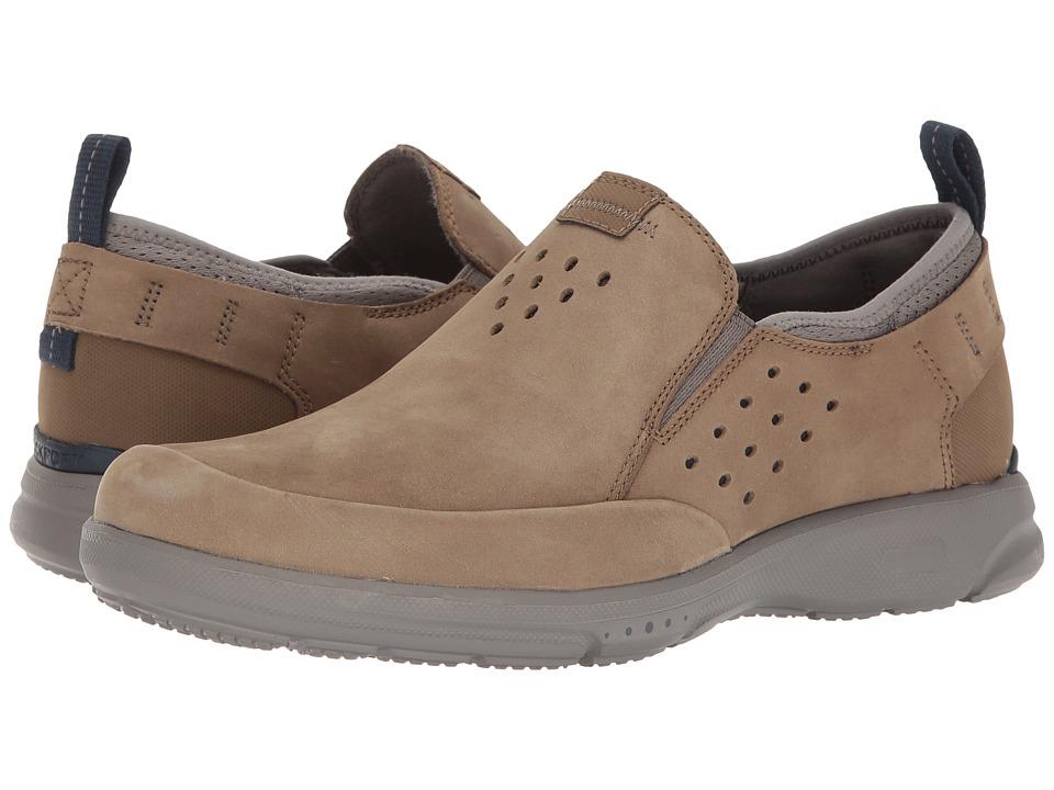 Rockport TruFlex Slip-On (Taupe) Men's Slip on  Shoes
