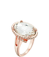 GUESS - Faceted Oval Stone Bezel Ring Set