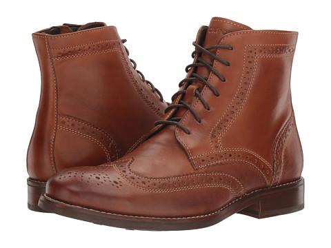 Rockport Wyat Wingtip Boot - Cognac Leather