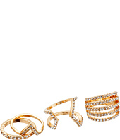 GUESS - Three-Piece Dainty Band Ring Set