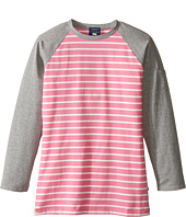 Toobydoo - Pink Long Sleeve Tee (Toddler/Little Kids/Big Kids)