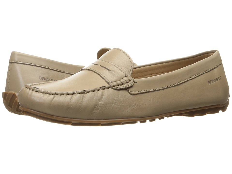Sebago Harper Penny (Taupe Leather) Women