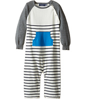 Toobydoo - Blue Pocket Sweater Knit Jumpsuit (Infant)