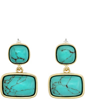 LAUREN Ralph Lauren - Treasure Trove Stone Double Earrings