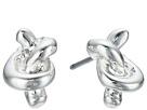 LAUREN Ralph Lauren Smooth Operator Metal Knot Stud Earrings