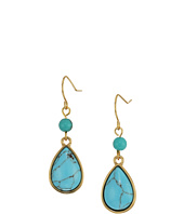 LAUREN Ralph Lauren - Paradise Found Small Turquoise Drop Earrings