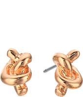 LAUREN Ralph Lauren - Rose Chic Metal Knot Studs