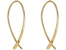 LAUREN Ralph Lauren Belle Isle Medium Elongated Endless Hoop Earrings