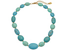 LAUREN Ralph Lauren Paradise Found 18 Turquoise Nugget Bead Necklace