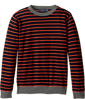 Toobydoo - Gavin Crew Neck Sweater (Toddler/Little Kids/Big Kids)