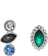 GUESS - Stone Stud and Crawler Duo Set Earrings
