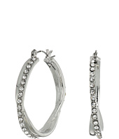 GUESS - Stone Snap Hoops Earrings