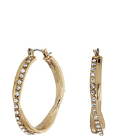 GUESS - Stone Snap Hoops Earrings