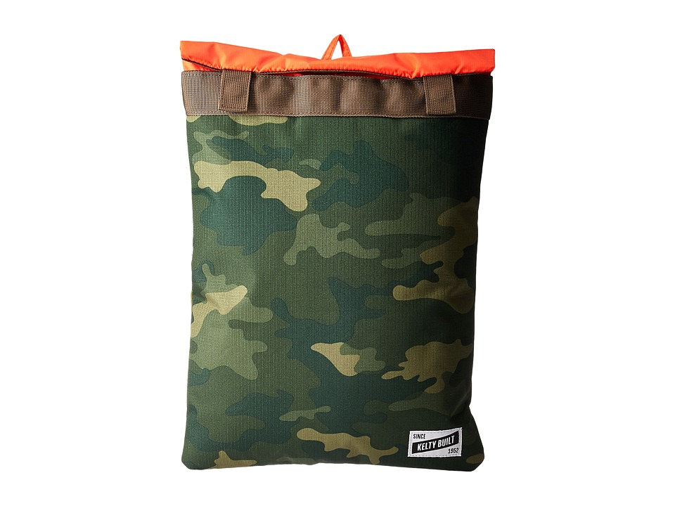 Kelty - Stash Pocket Large (Green Camo) Handbags
