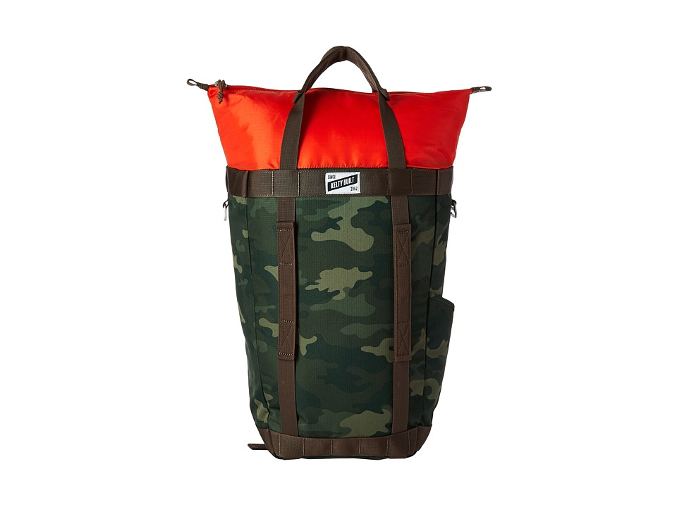 Kelty - Hyphen Pack Tote (Green Camo) Tote Handbags