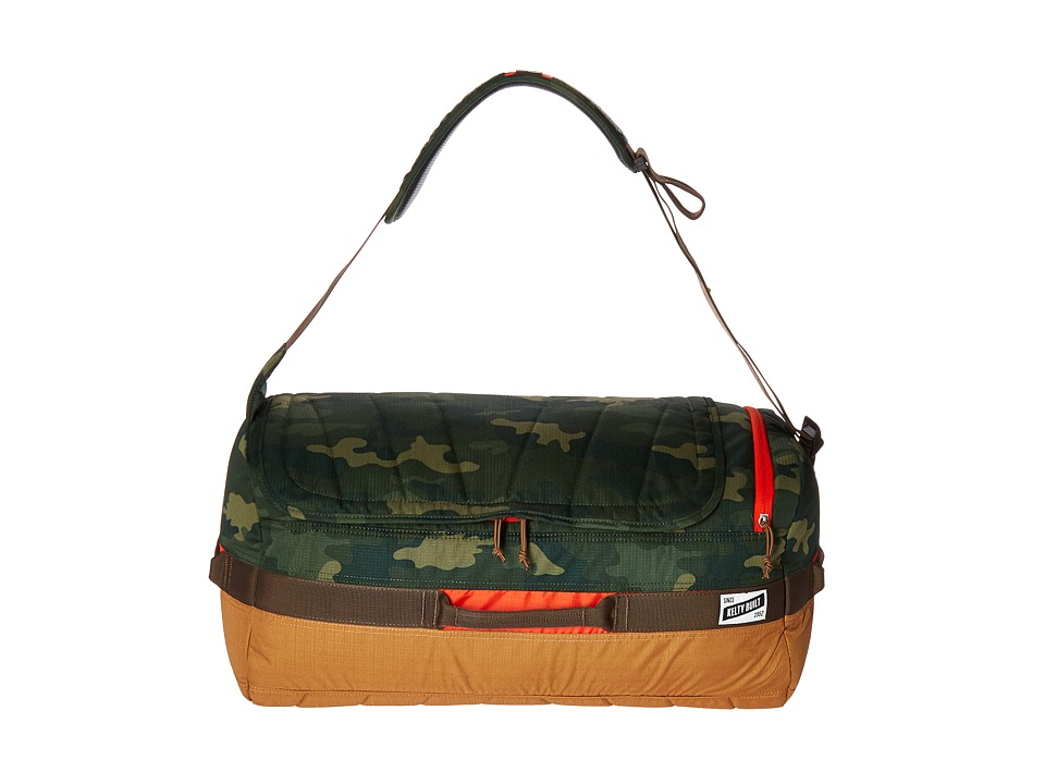 Kelty - Dodger Duffel 40L (Green Camo/Canyon Brown) Duffel Bags