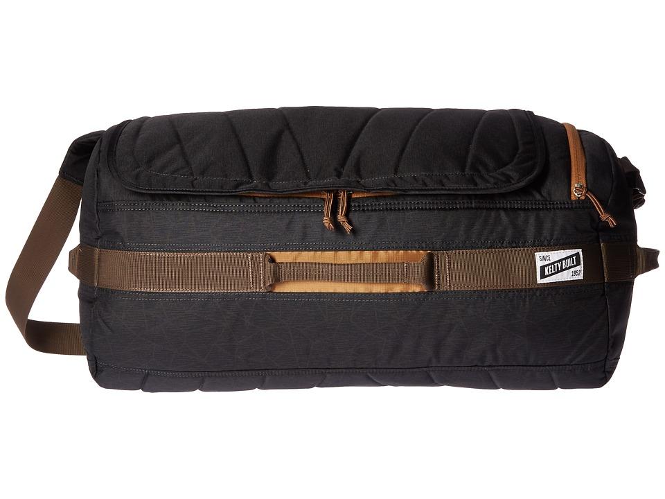 Kelty - Dodger Duffel 40L (Black Geo Heather) Duffel Bags