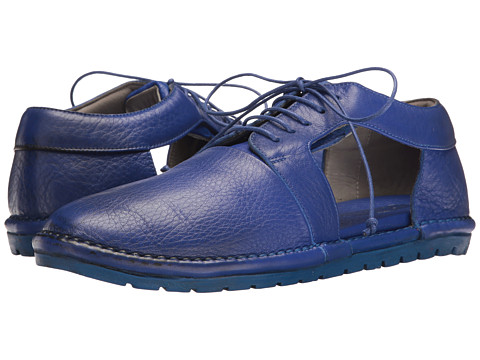 Marsell Side Cut Out Oxford - Blue