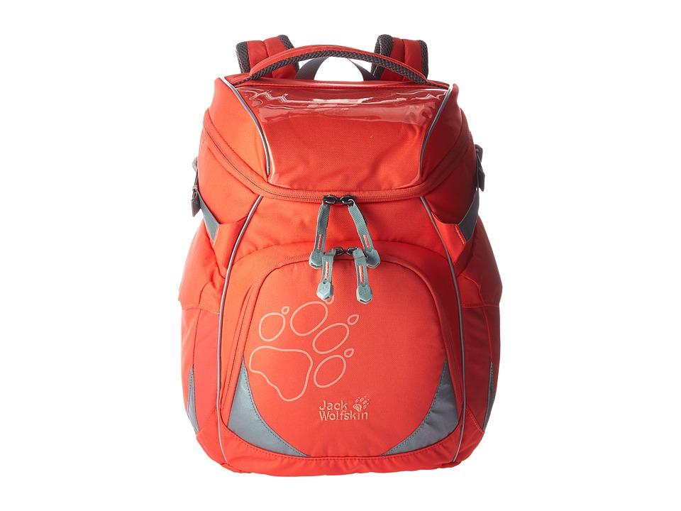 Jack Wolfskin Classmate Pack (Kids) (Hot Coral) Backpack ...