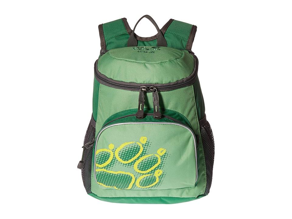 Jack Wolfskin - Little Joe (Kids) (Leaf Green) Backpack Bags