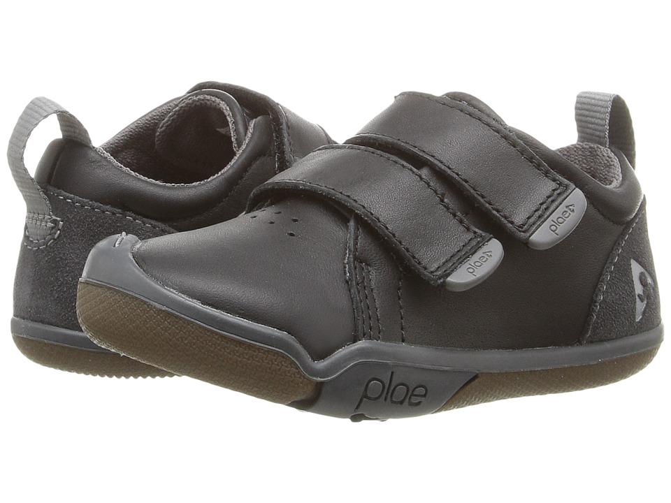 PLAE Roan (Toddler/Little Kid) (Black) Kid's Shoes