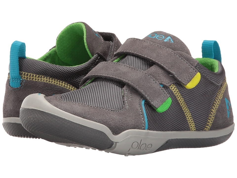 PLAE Ty (Toddler/Little Kid) (Steel) Kid's Shoes